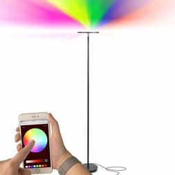 Brightech Kuler Sky - Color Changing Torchiere LED Floor Lam