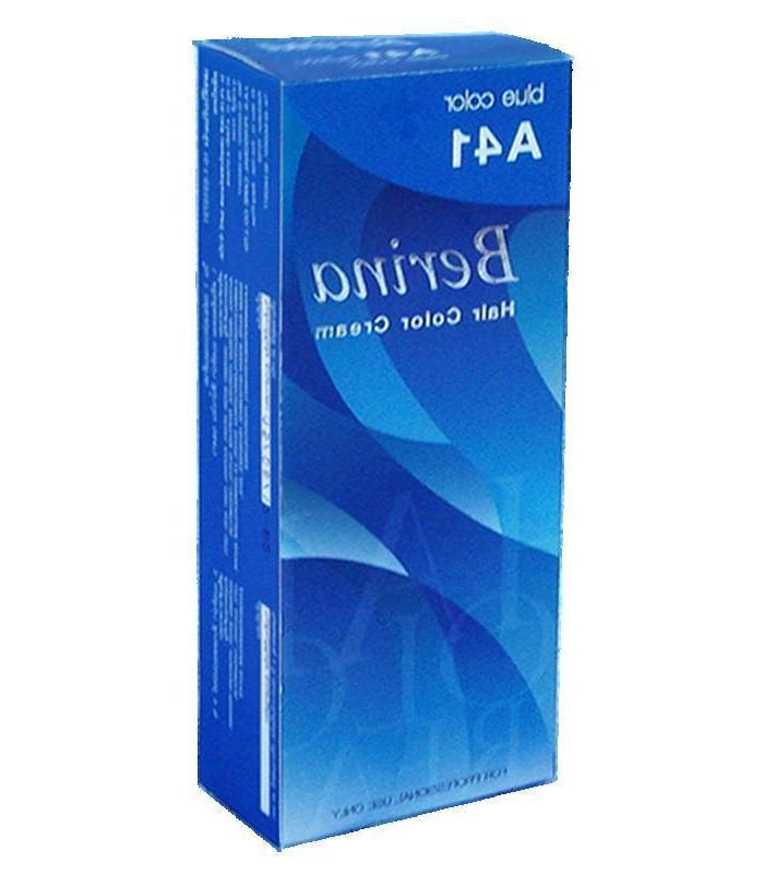 1 Box ONLY Berina A41 Hair Dye Permanent Light Color.