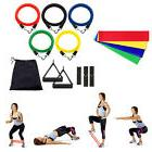 15 in 1  Yoga Pilates Exercise Fitness Workout Bands+Resista
