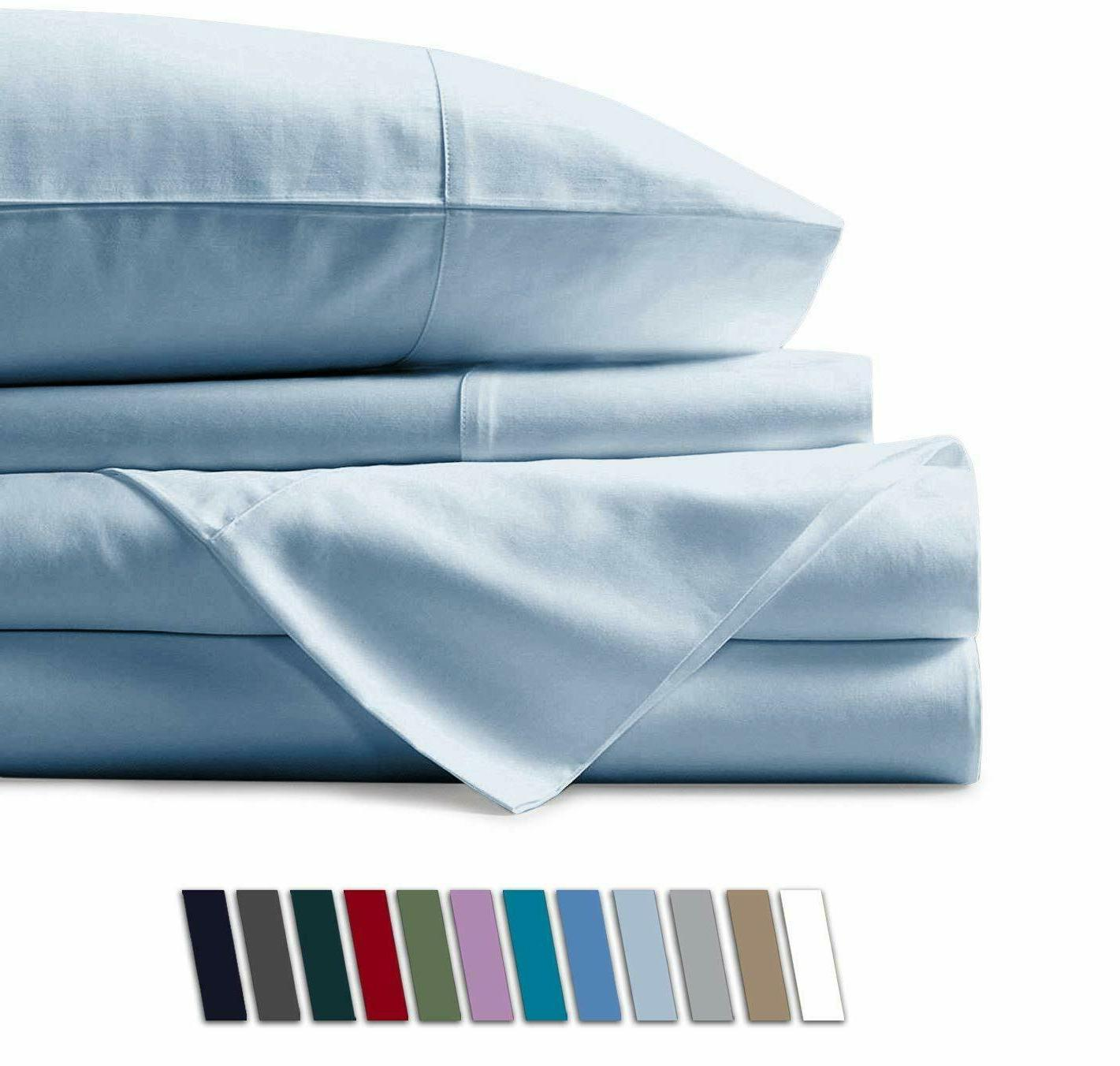 100 percent egyptian cotton 6 piece bed