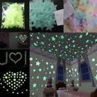 100PC Luminous Stars Moon Stickers Glow In The Dark Bedroom