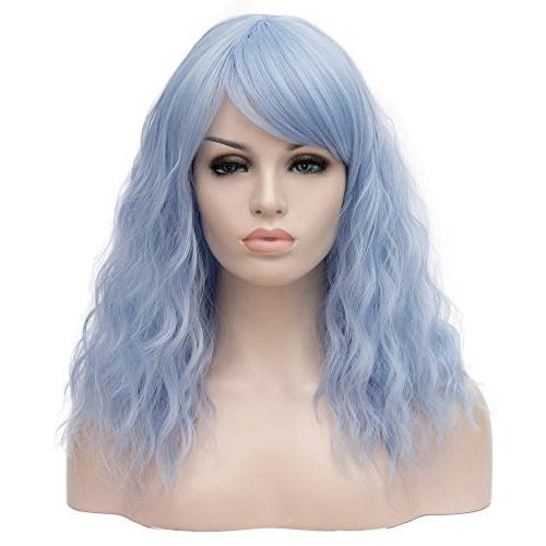 18 lovely curly wig