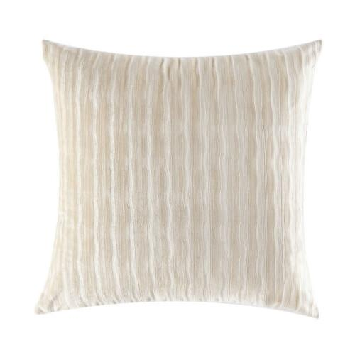 "18"" Striped Solid Square Throw Cushion"