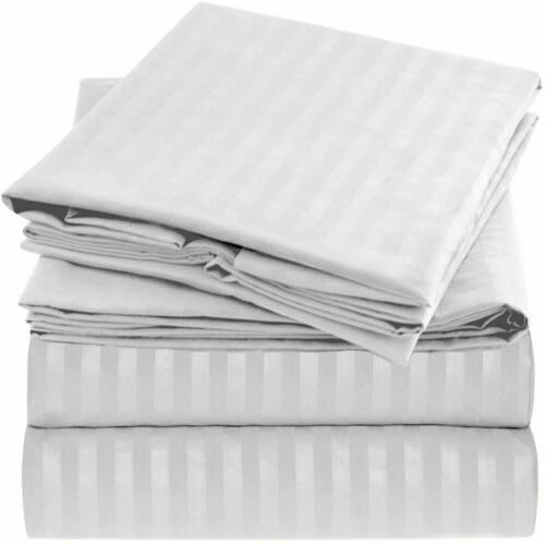 Mellanni 1800 Collection Sheet -Wrinkle Fade