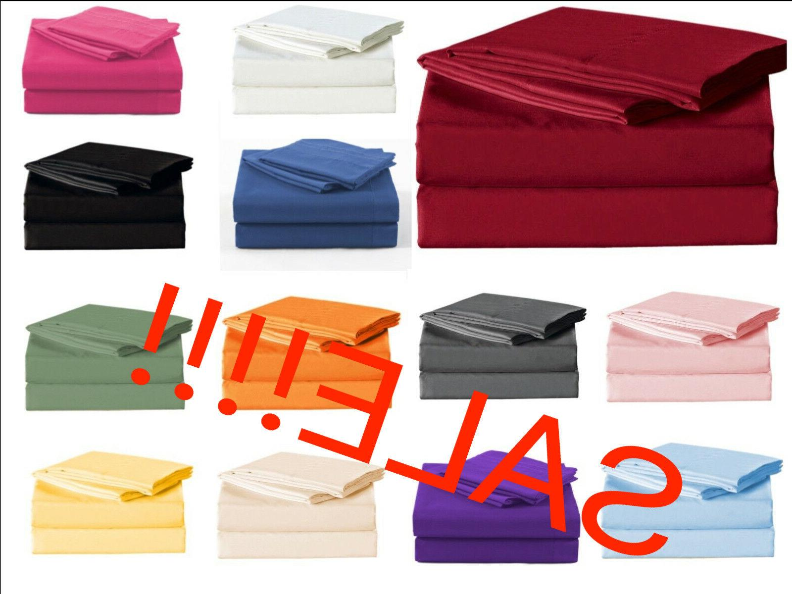 1900 count sheet set fitted flat 16