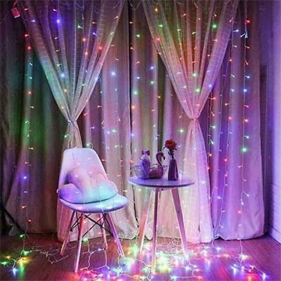 300 Window Curtain String Light Wedding Home Decorations