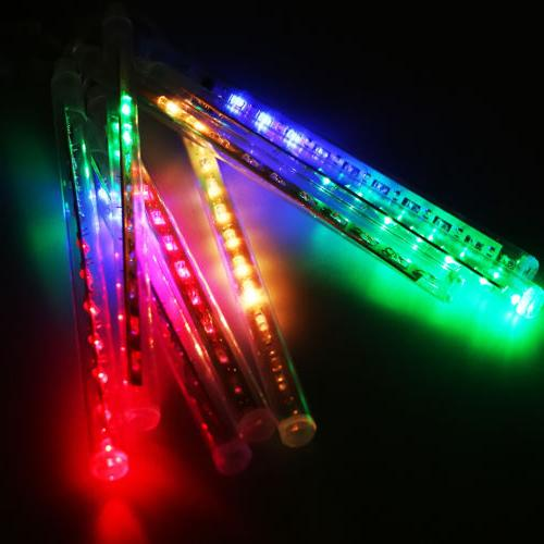 30cm LED Meteor Shower Rain Tube Xmas Outdoor Light