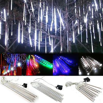 30cm LED Lights Meteor Rain Tube Snowfall Outdoor Light