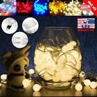 5/10M 50/100LEDs LED Bulb Ball String Fairy Light Indoor Par
