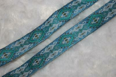 5 white gray teal green sewing