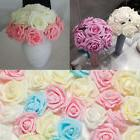 50/100Pcs Foam Fake Roses Artificial Flower Wedding Bride Ho