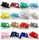 "5yds 3/8"" 10mm Solid Color Grosgrain Ribbon Bow Wedding Deco"