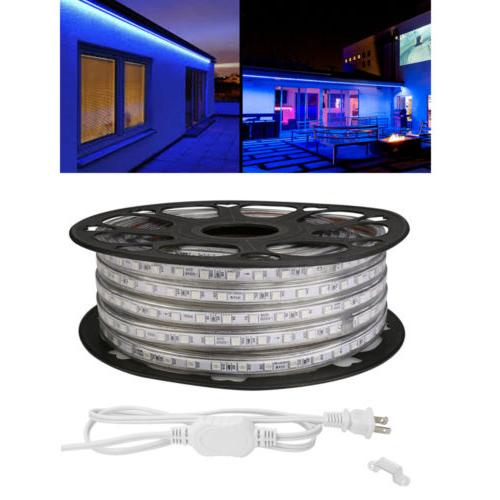 60Leds/m Waterproof 5050 Tape Rope Blue Home