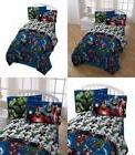 Marvel Avengers Heroic Age Blue/White 3 Piece Twin Sheet Set