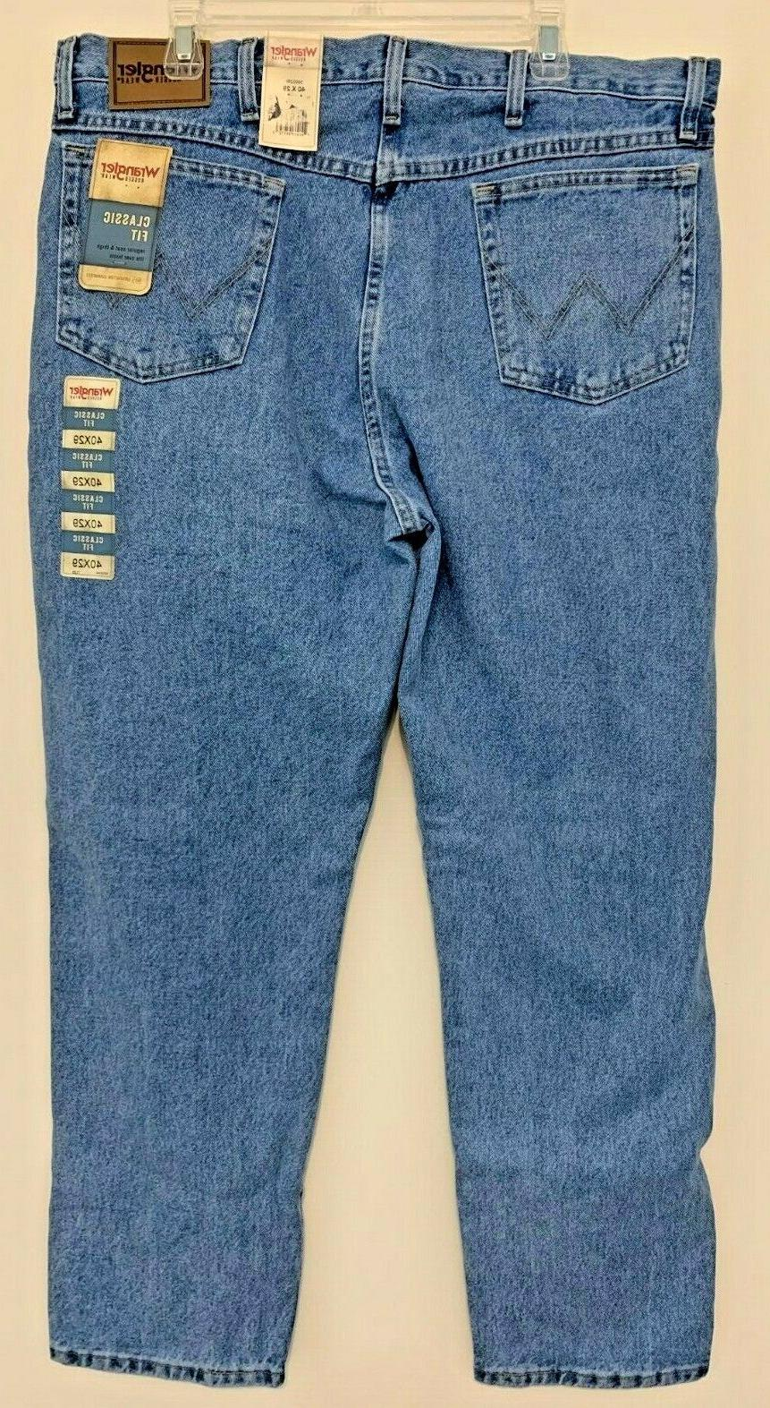 Wrangler Light Blue 39902RI Mens Size New With Tags