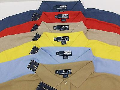 Polo Lauren Classic $79-89 Lt Blue Yellow Red Pony NWT