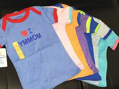 LUVABLE FRIENDS COTTON KIDS BABY TODDLER BOY GIRL TEE TOP T-