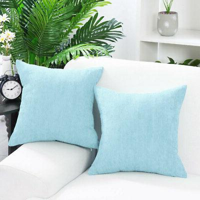 Cushion Covers Stripe Decoration Throw Pillow Case 20 x 20 I