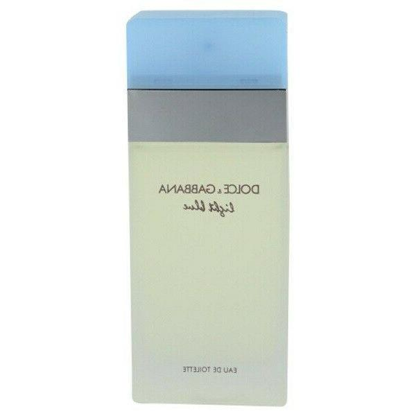 dolce gabbana light blue womens perfume edt