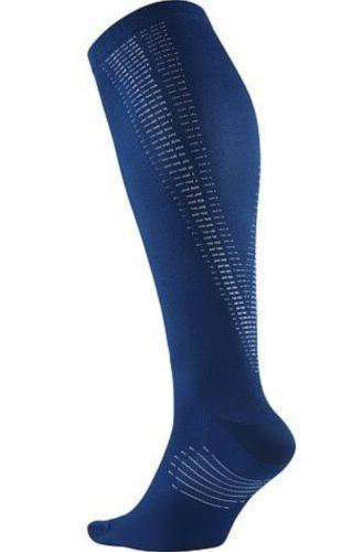 elite graduated compression blue jay light blue