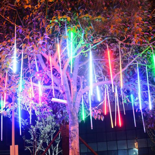 Falling Rain Drop/Icicle LED String Party Garden Tree