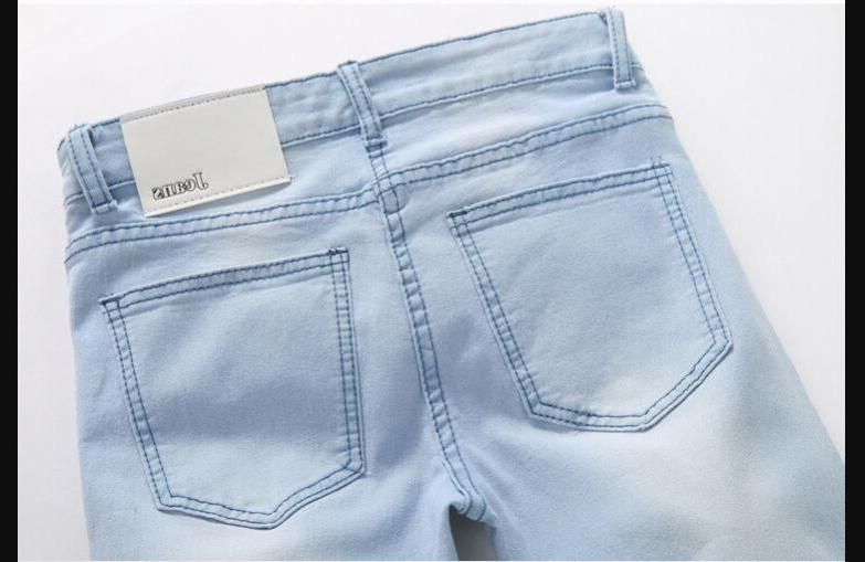 <font><b>Blue</b></font> Spring <font><b>Jean</b></font> Pants <font><b>Men</b></font> Size 36