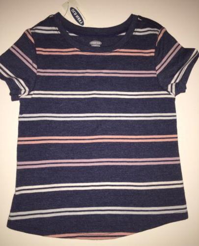 Old Navy Short Stripes Navy Blue, & Blue