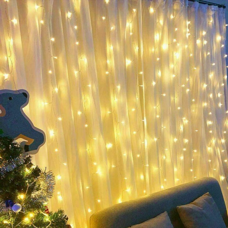 LE Lights 9.8 ft Fairy String Yellow