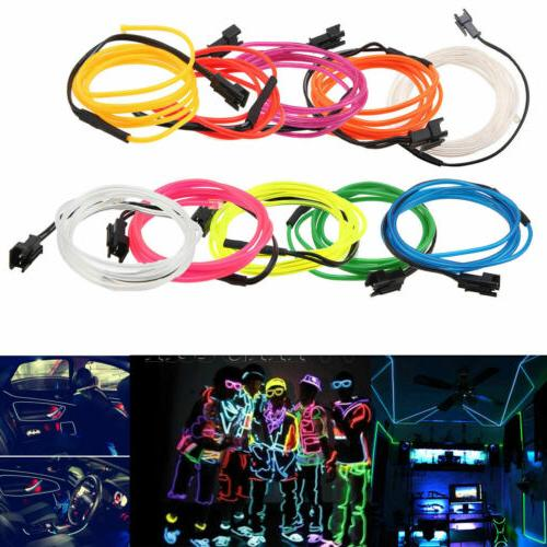 LED EL Glow Light Rope Controller Dance