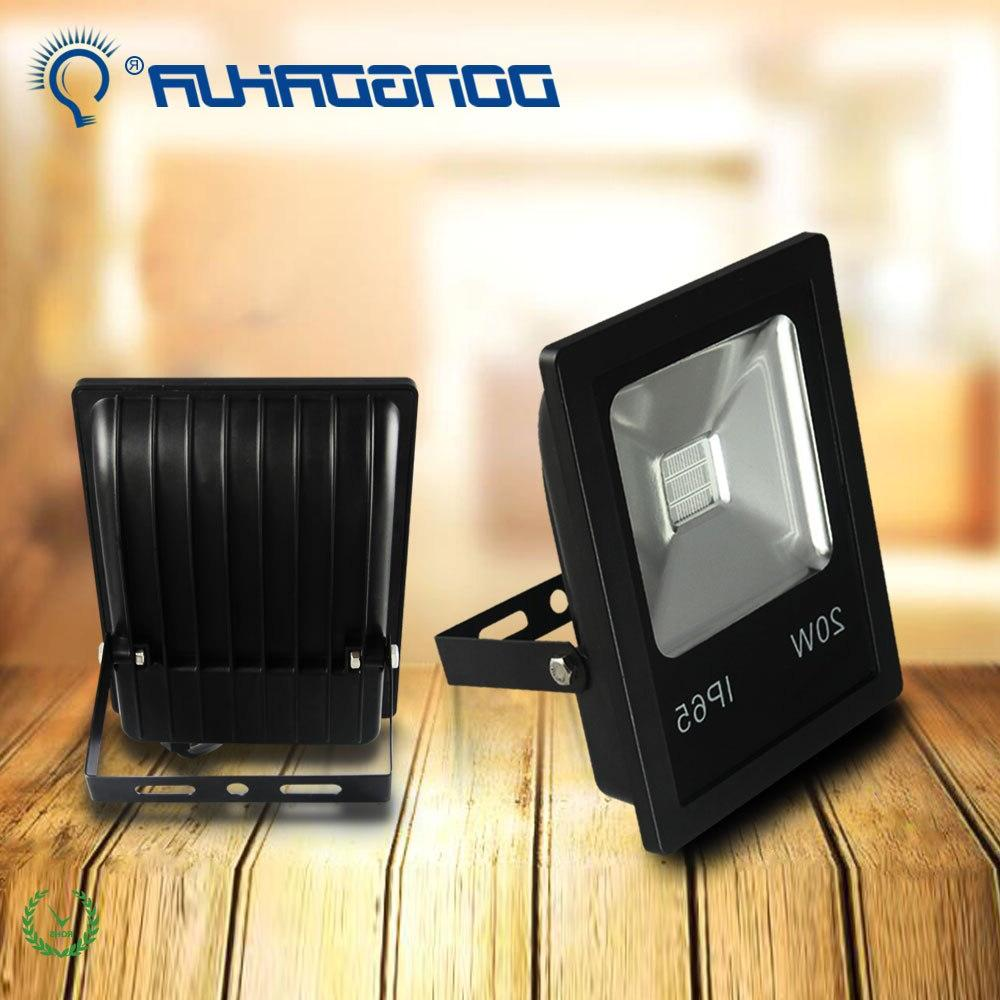 LED Floodlight 10W 20W RGB Floodlight IP65 Waterproof Reflet