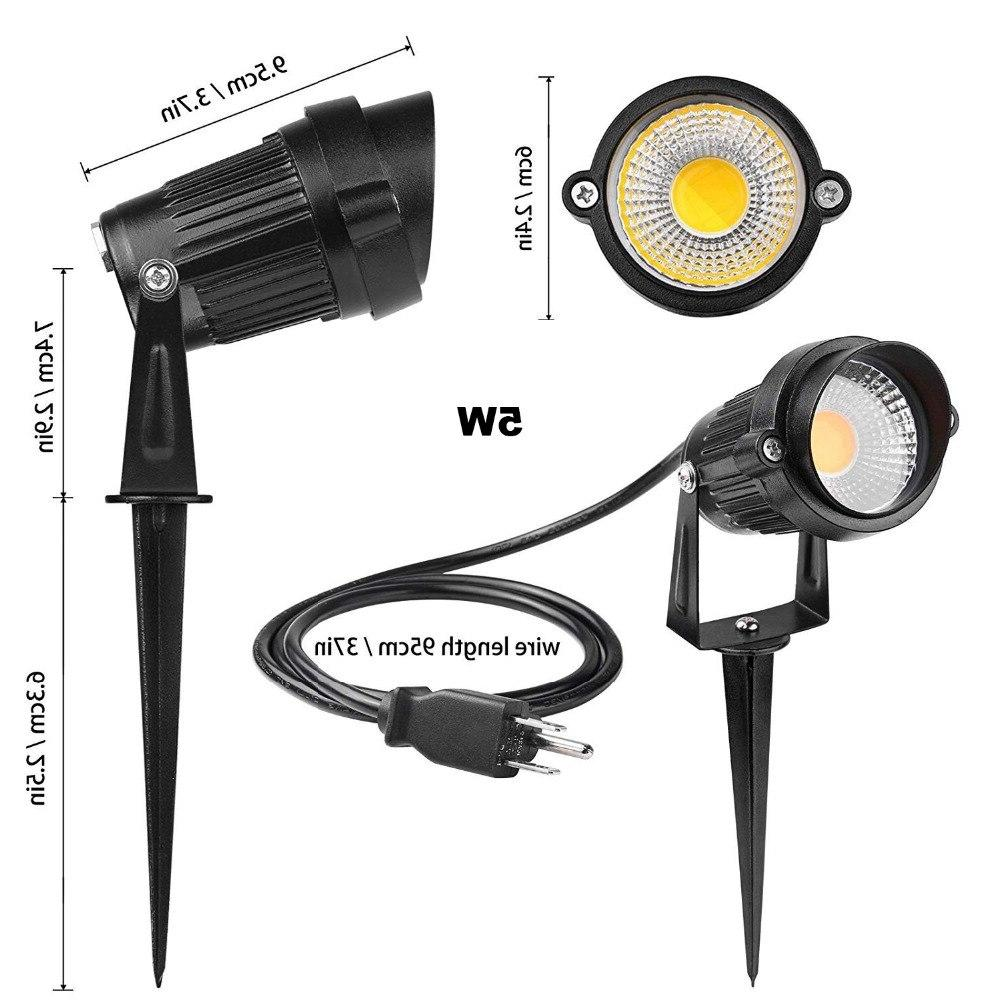 Led Lawn lamps <font><b>Light</b></font> Waterproof Landscape Spot Lamps Green 10W