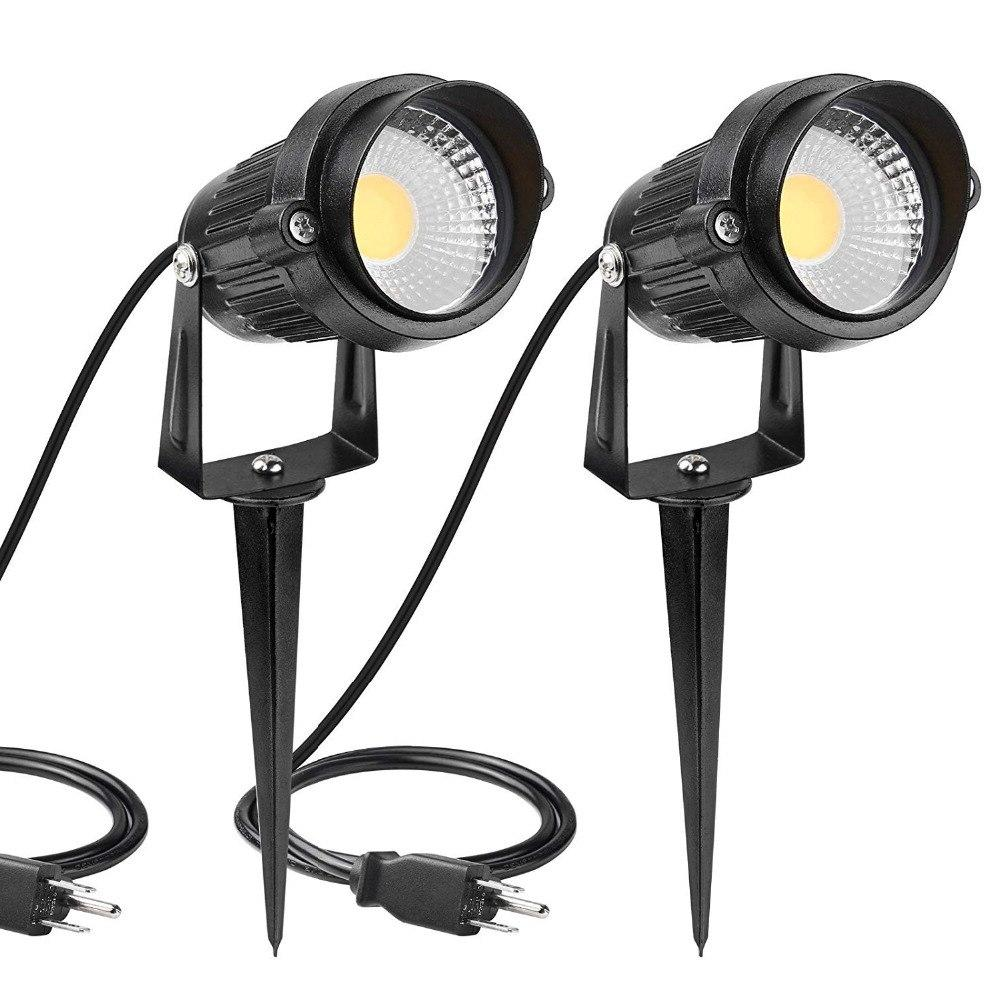 Led lamps Garden <font><b>Light</b></font> AC85-265V Outdoor Waterproof Landscape Green 10W