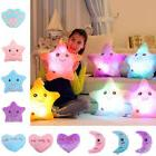 LED PILLOW Light Up Cushion Sofa Bed Bedroom Plush Night Glo