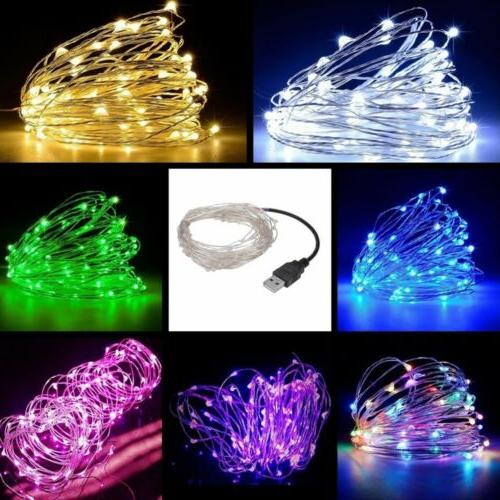 led string fairy light copper wire home