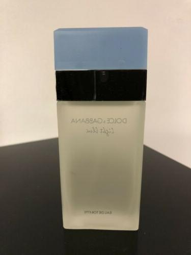 Light Blue & Gabbana 3.3oz Eau De Perfume New