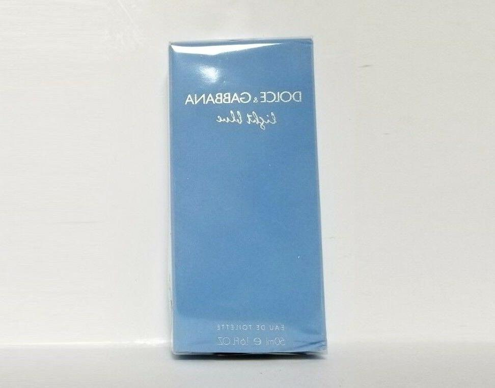 LIGHT BLUE DOLCE & GABBANA TOILETTE SPRAY 1.6 /50 NEW