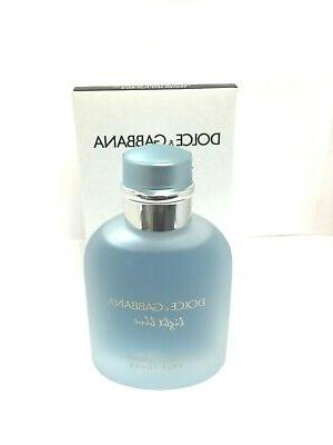 Light Blue Eau by Dolce & 3.3 EDP men's cologne tester