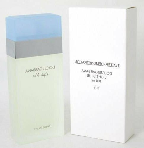 light blue plain box eau de toilette