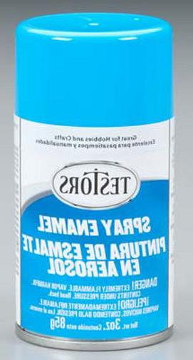 light blue spray paint can 3 oz