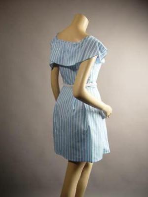 Light Blue White Stripe Fit and 260