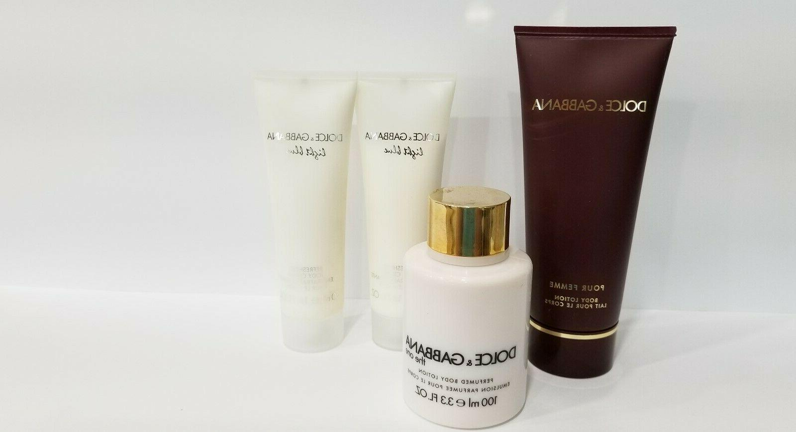 Lot of DOLCE & GABBANA The One Perfumed Body Lotion ~ Light