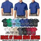 Mens Short Sleeve Shirt W/ Pocket Easy Care Button Down Coll