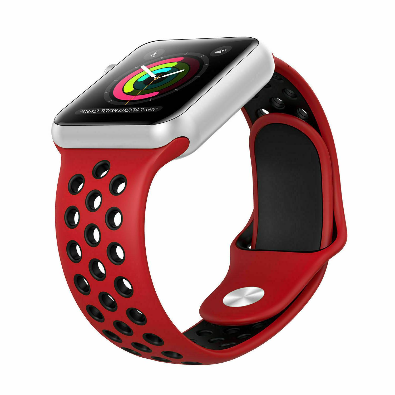 new Silicone 38/40mm 42mm Nike+ Apple 2 6