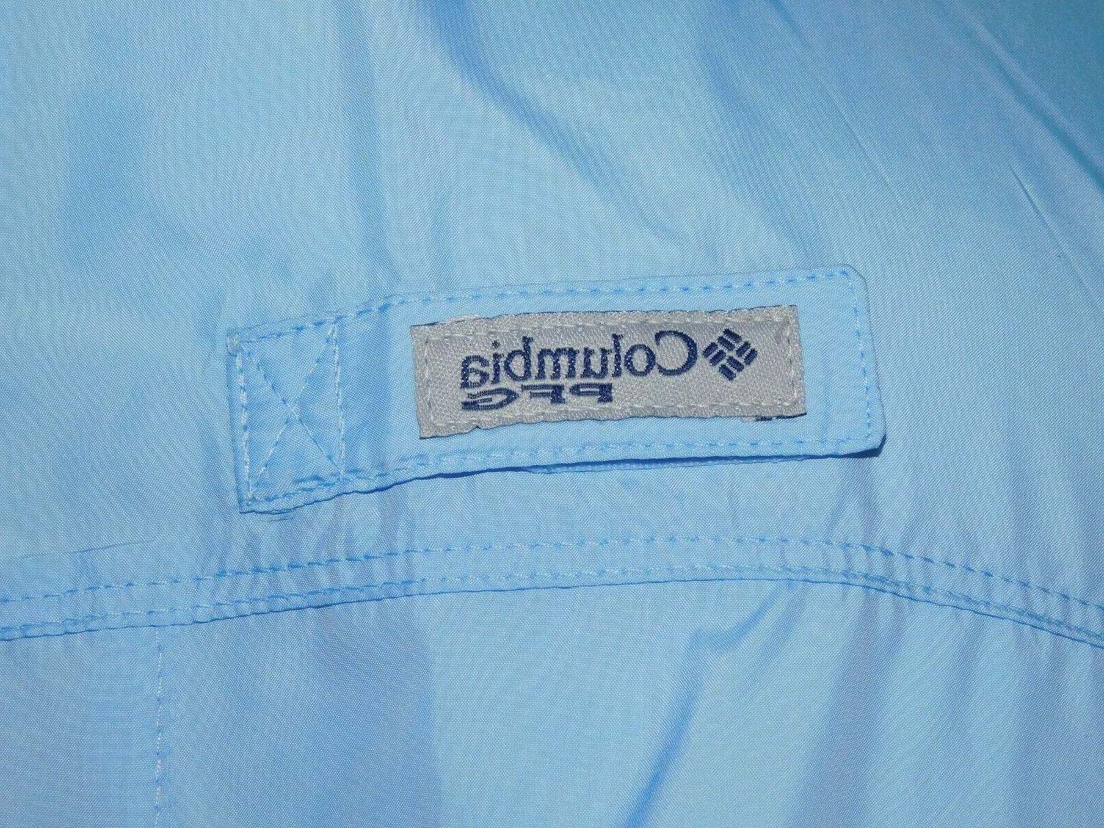 NEW Women's COLUMBIA Light Blue Jacket Sail/Cupid