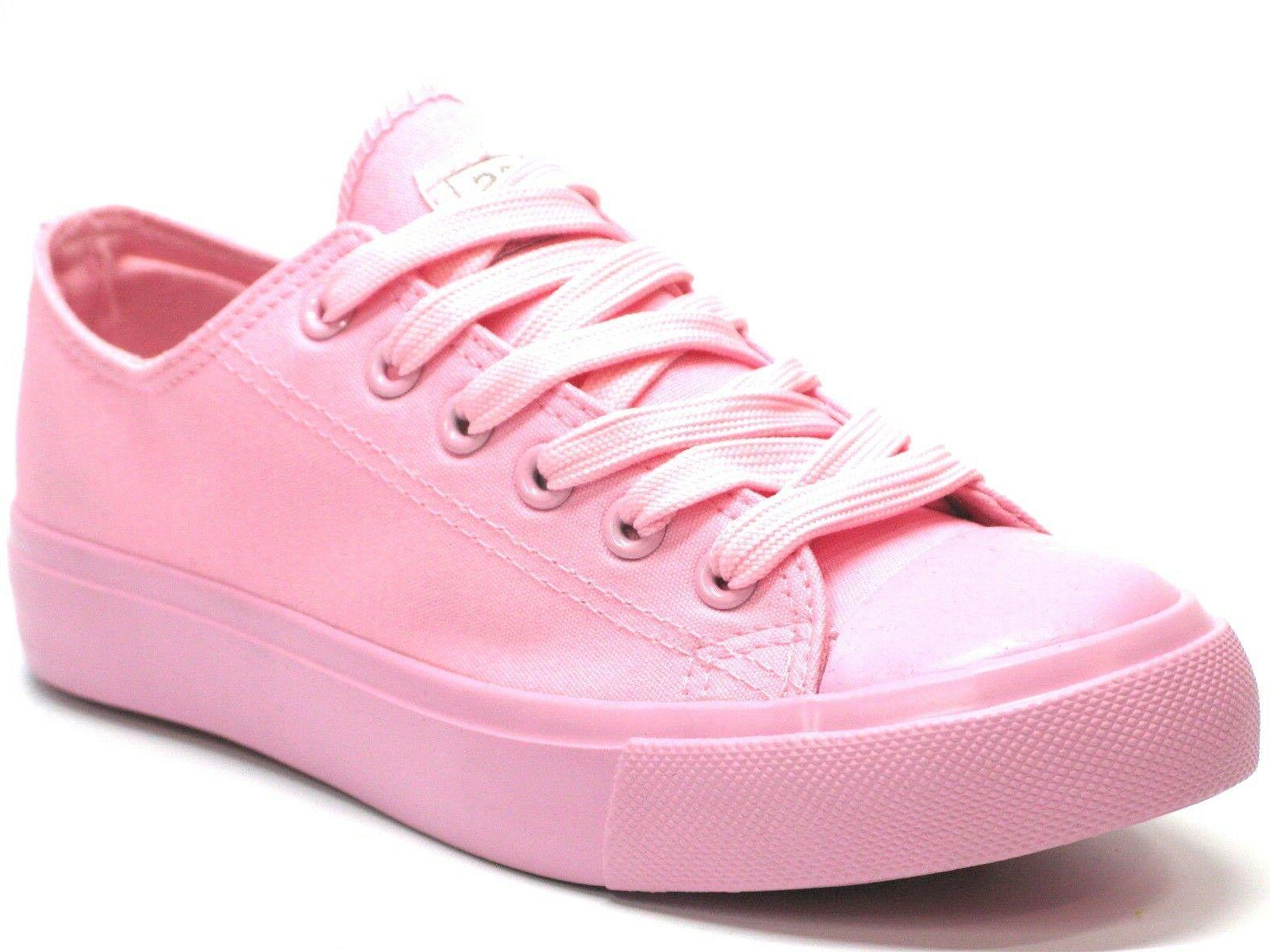 New Girls Lace Up Casual Comfort Sneakers Colors