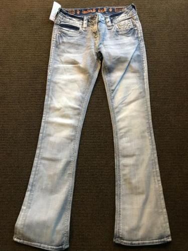 Nwts Womens Light Bootcut Blue Jeans Size