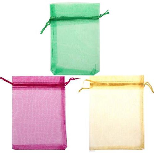 120PCS Organza Gift Bag Wrap Party/Game/Wedding/Christmas, Candy
