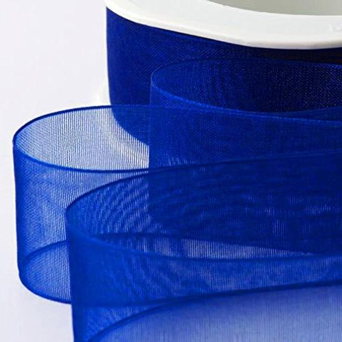 Organza Ribbon 25mm Woven Ribbon 6 Dark Blue Sage Rainbow Christmas Necklaces For