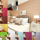 PE Foam 3D Wallpaper DIY Wall Stickers Wall Decor Embossed B