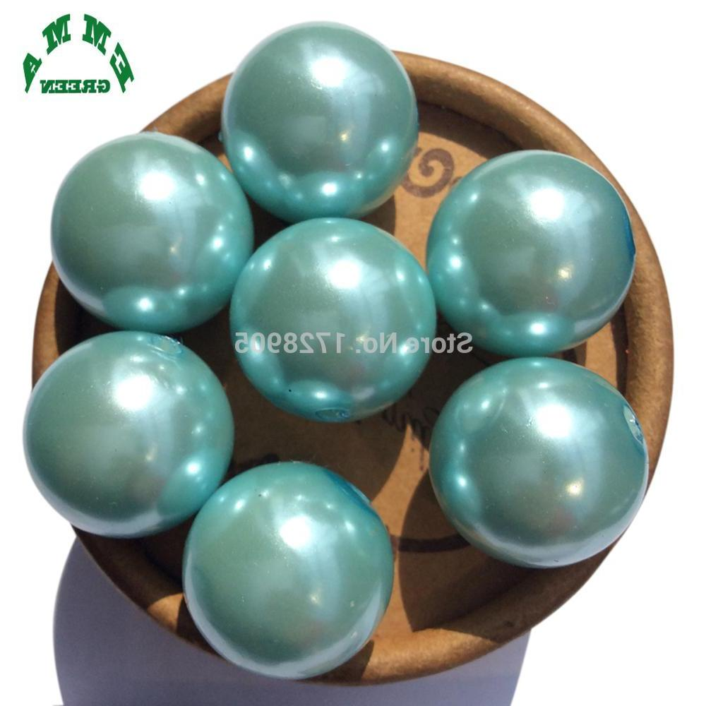 Pearls Pearl Loose A17 Chunky Pearl Round Bead mm mm for <font><b>Vase</b></font>